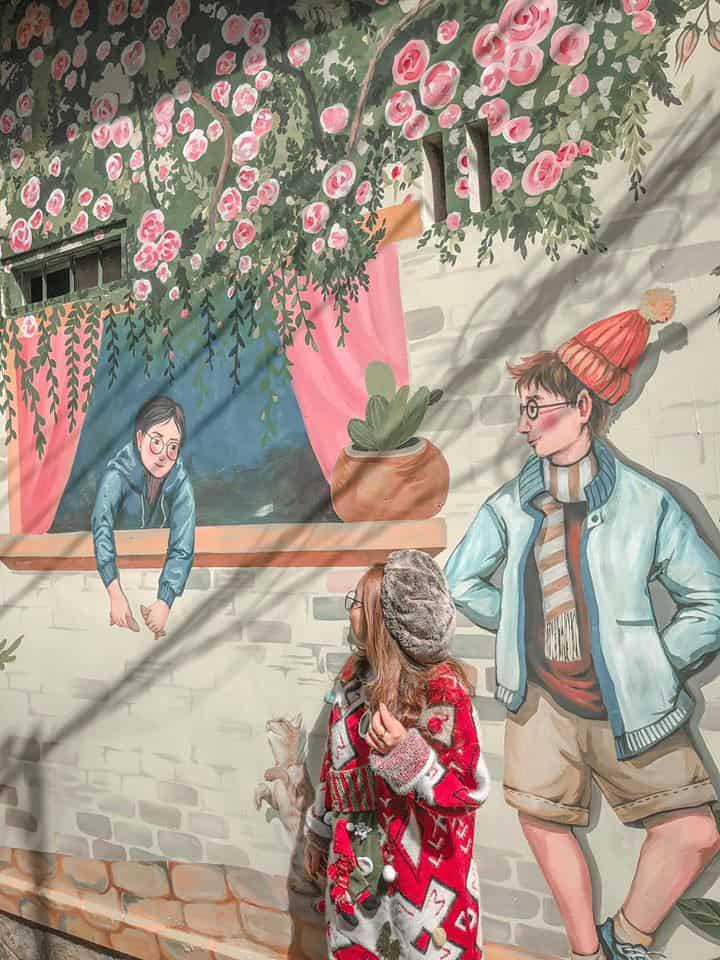 Dốc Nhà Làng Đà Lạt. Hình: Phương Trâm Nguyễn