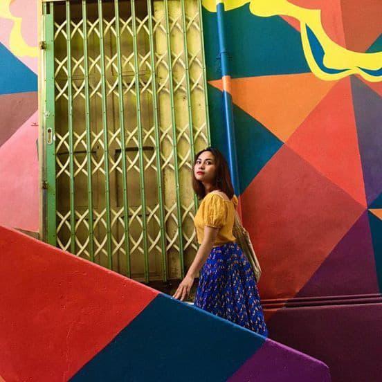Cầu thang nơi Dốc Nhà Làng. Hình: Jessie Trần