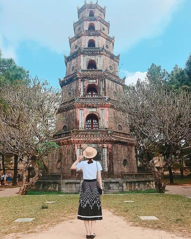 Chùa Thiên Mụ Huế - Địa điểm du lịch tâm linh miền Trung nổi tiếng