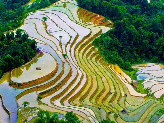 Hà Giang tháng 5 - Mùa nước đổ