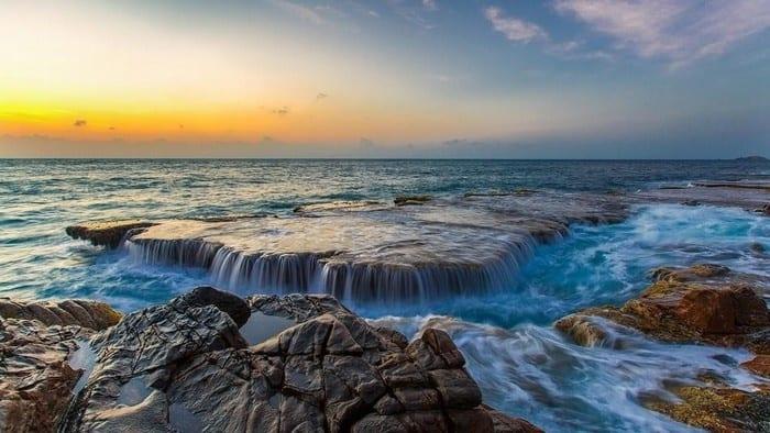 Hàng Rái vẻ đẹp hoang sơ - Là nơi ngắm bình minh đẹp nhất vịnh Vĩnh Hy