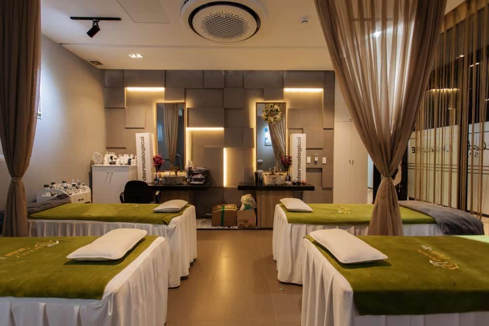 Phòng spa. Hình: hotelcolline
