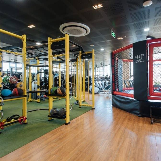 Phòng tập gym. Hình: hotelcolline
