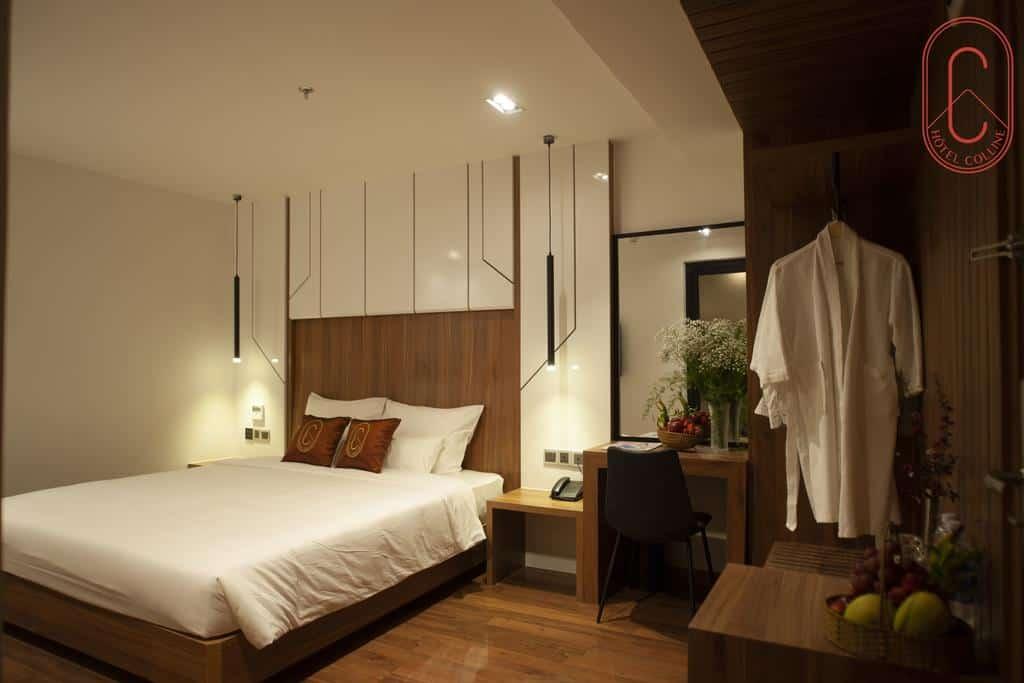 Hạng phòng Superior khách sạn Hôtel Colline Đà Lạt. Hình: hotelcolline