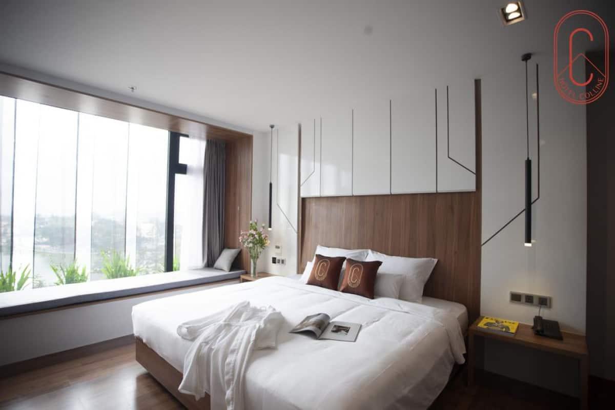 Hạng phòng Studio khách sạn Hôtel Colline Đà Lạt. Hình: hotelcolline