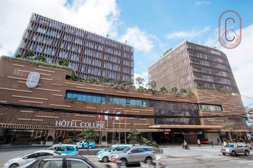 Là khách sạn mới đi vào hoạt động khách sạn Hôtel Colline có thiết kế hiện đại hợp thời