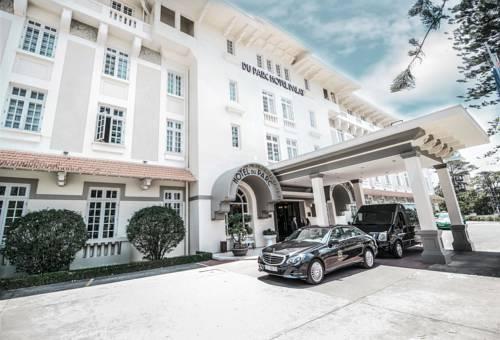 Khách sạn Du Parc Đà Lạt mang vẻ đẹp cổ kính của kiến trúc Pháp