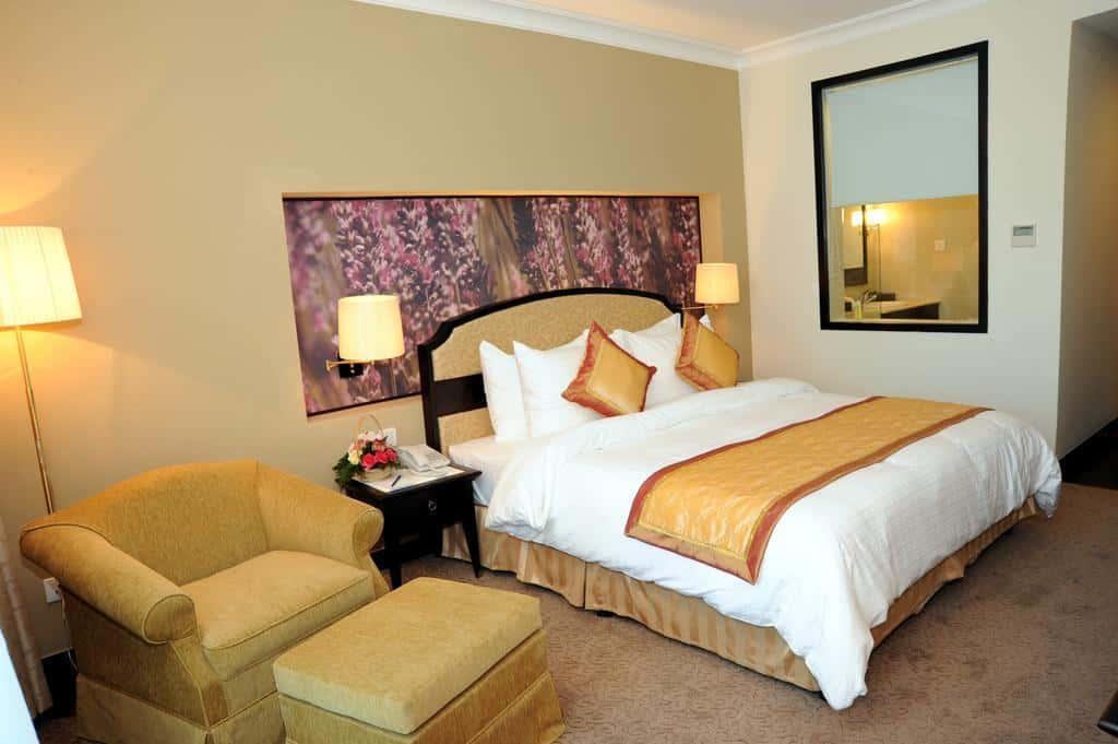 Phòng nghỉ được trang bị tiện nghi nhằm mang đến cảm giác thư giãn nhất cho du khách