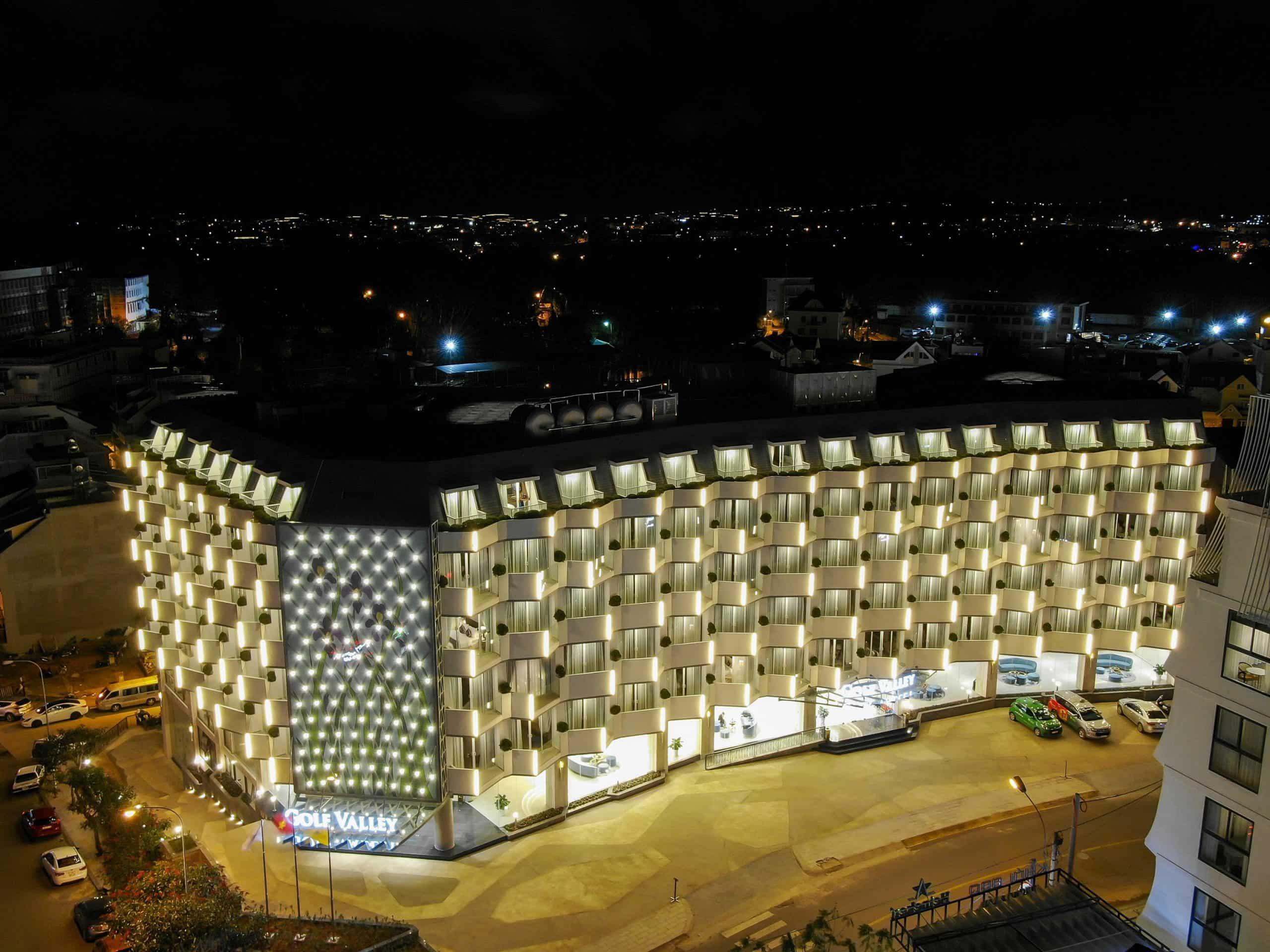Khách sạn Golf Valley Đà Lạt có kiến trúc ấn tượng