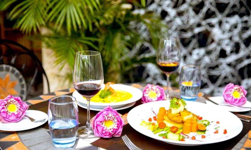 Những món ăn tươi ngon, đẹp mắt luôn sẵn sàng phục vụ thực khách
