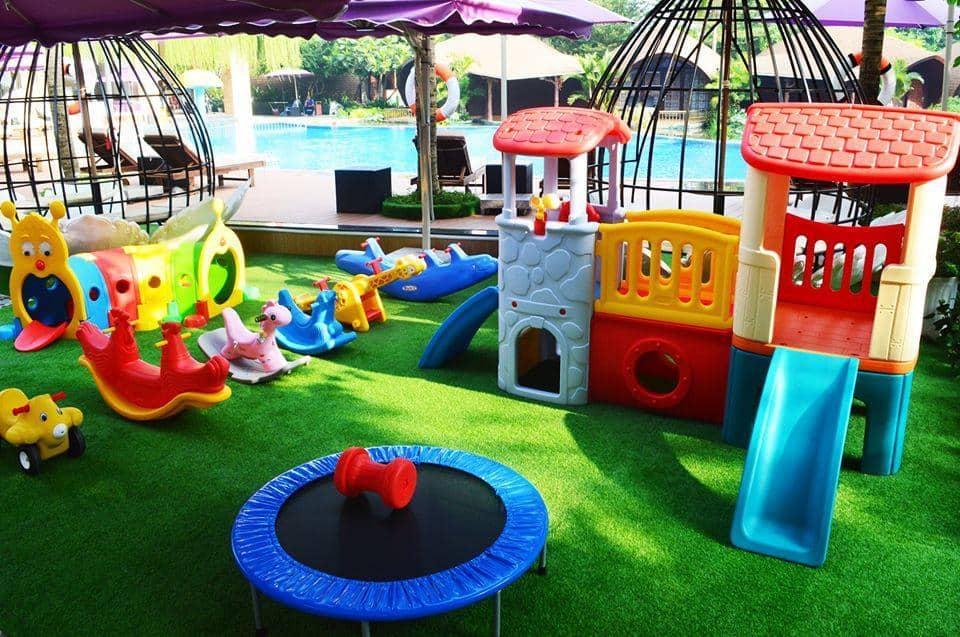 Khu vui chơi đầy màu sắc và lý thú dành cho trẻ em