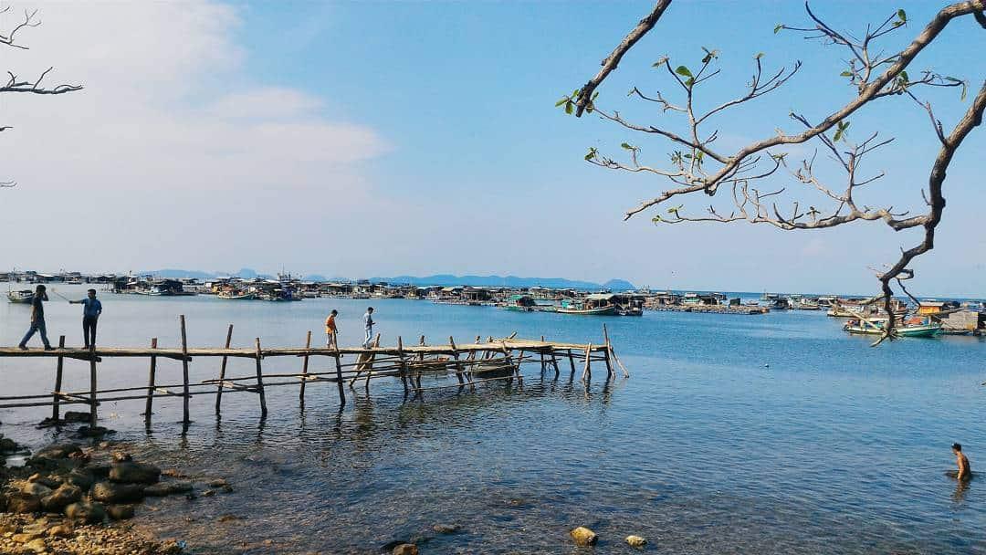 Vẻ đẹp hoang sơ của đảo Hòn Nghệ. Hình: @thaongan1311