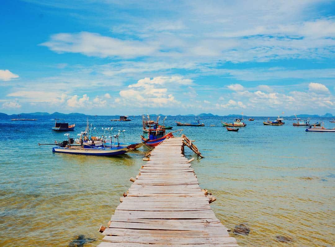 Con đường dẫn lối ra biển. Hình: @quanhki