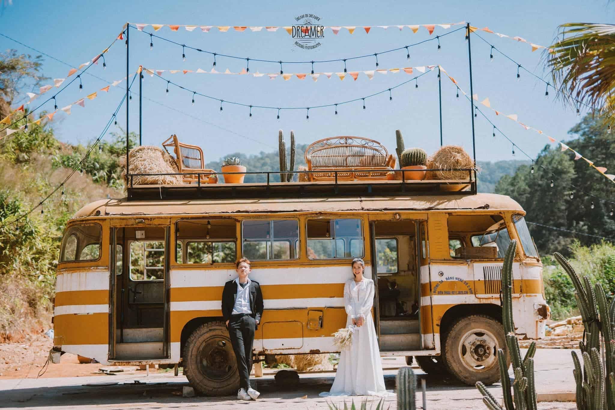 Đây cũng là địa điểm được các bạn trẻ chọn là nơi chụp hình cưới. HÌnh: Sưu tầm