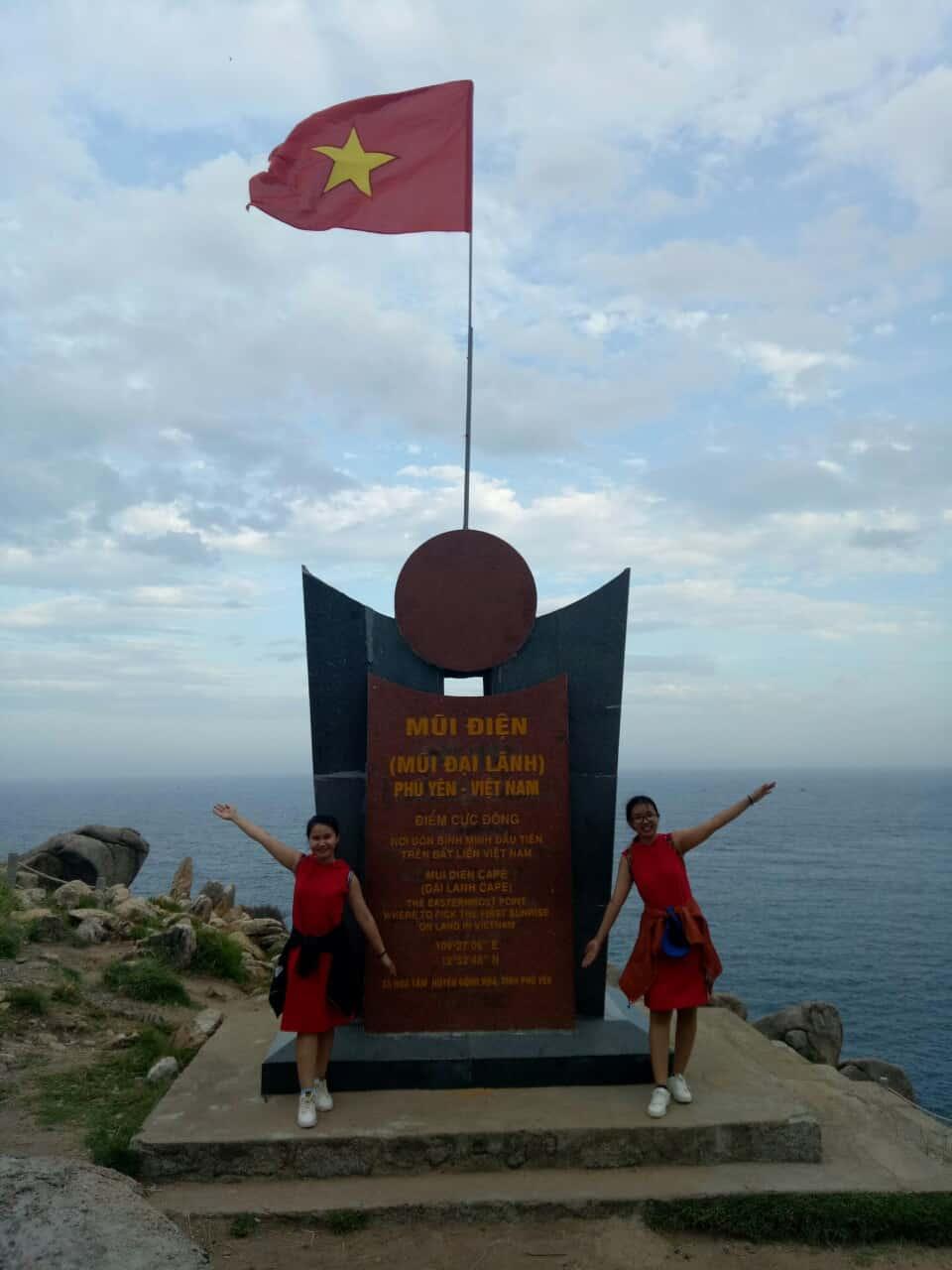 Bình minh trên mũi Đại Lãnh - Phú Yên