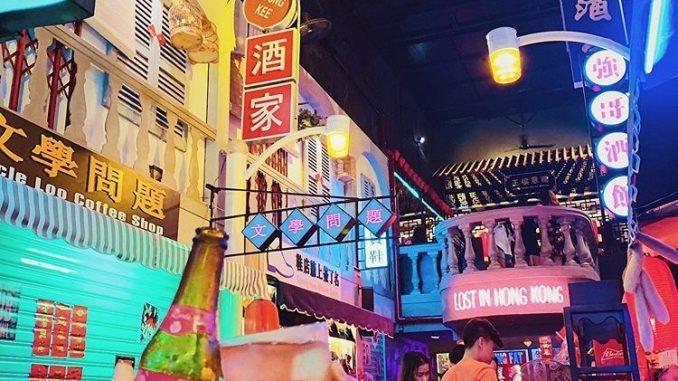 Quán cafe - Pub theo phong cách HongKong luôn là địa điểm hot được nhiều người săn đón