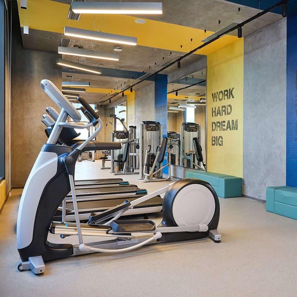 Phòng tập gym rèn luyện sức khỏe. Hình: Ibis Styles Vũng Tàu
