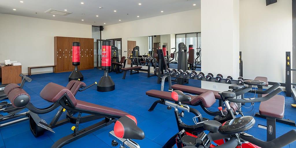 Phòng Gym cho những ai đam mê thể dục thể thao