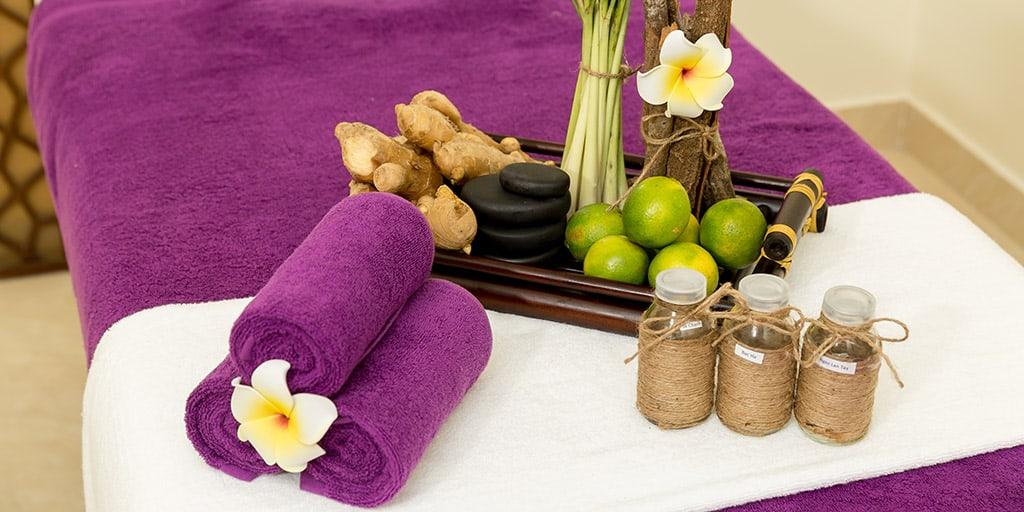 Khách sạn sử dụng các dược liệu tự nhiên trong thư giãn, massage