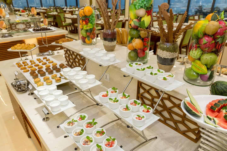 Những món buffet sáng ngon miệng
