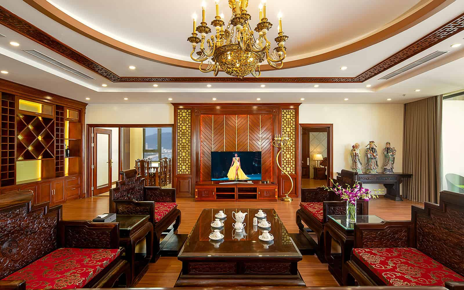 Phòng Presidential Suite cực đẳng cấp