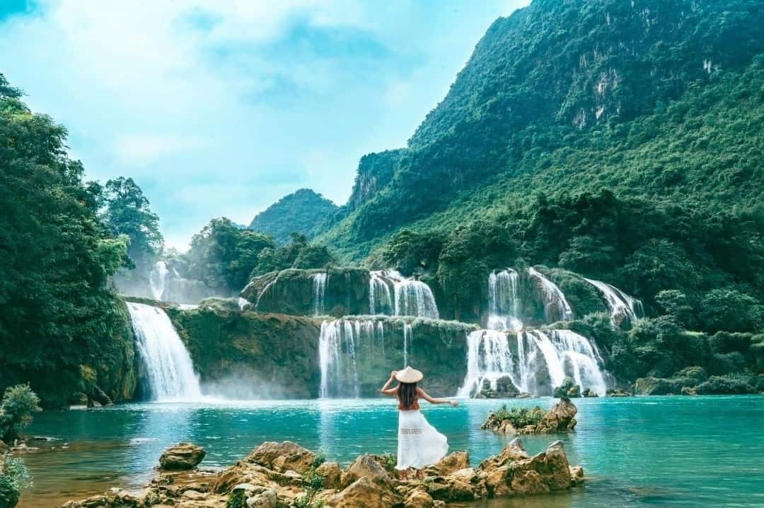 Thác Bản Dốc - con thác đẹp hút hồn tại Việt Nam
