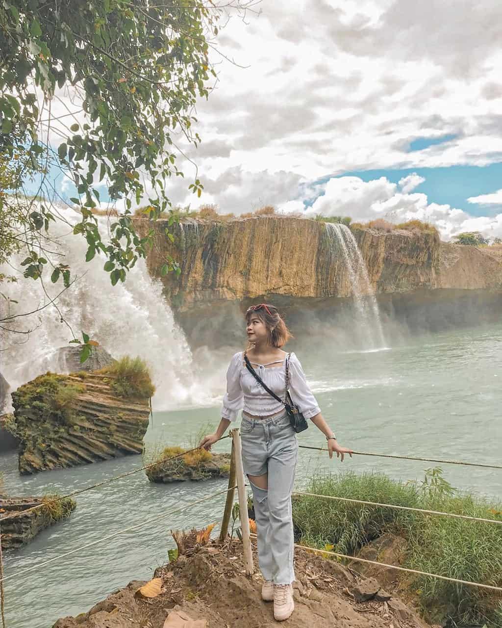 Vẻ đẹp hùng vĩ của thác Dray Nur. Hình: Thoi_tuongvan