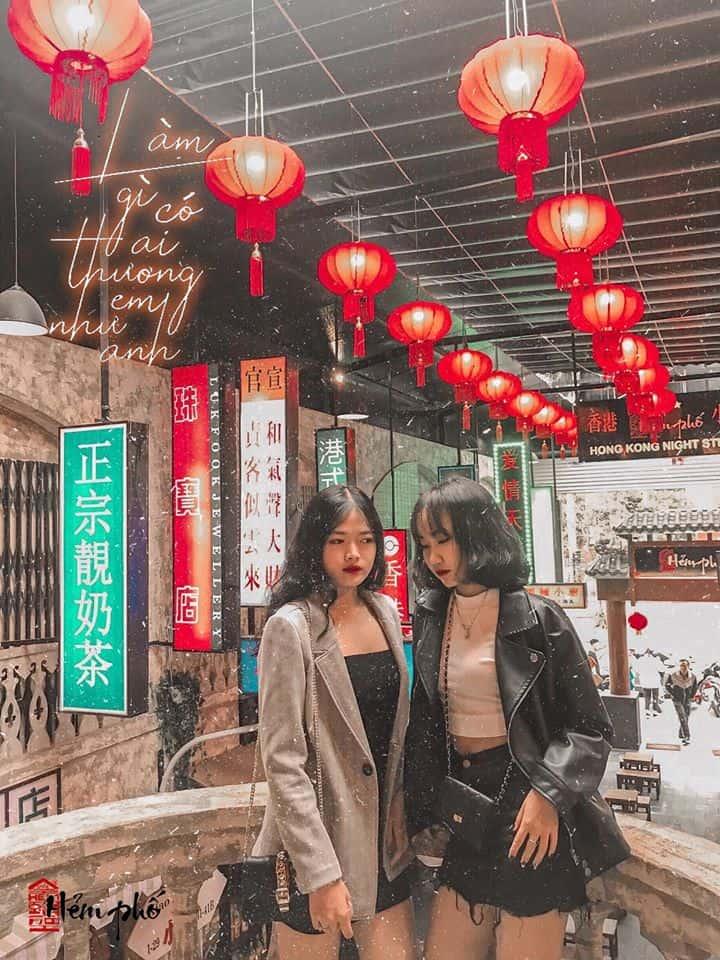 """Hình chất như đang ở HongKong thế này đủ điều kiện đem """"thả thính chưa?"""