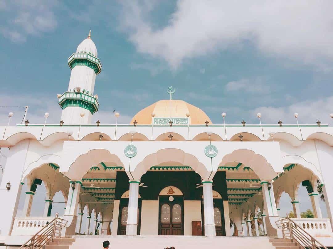 Thánh Đường Al-Ehsan An Giang. Hình: Lang thang An Giang