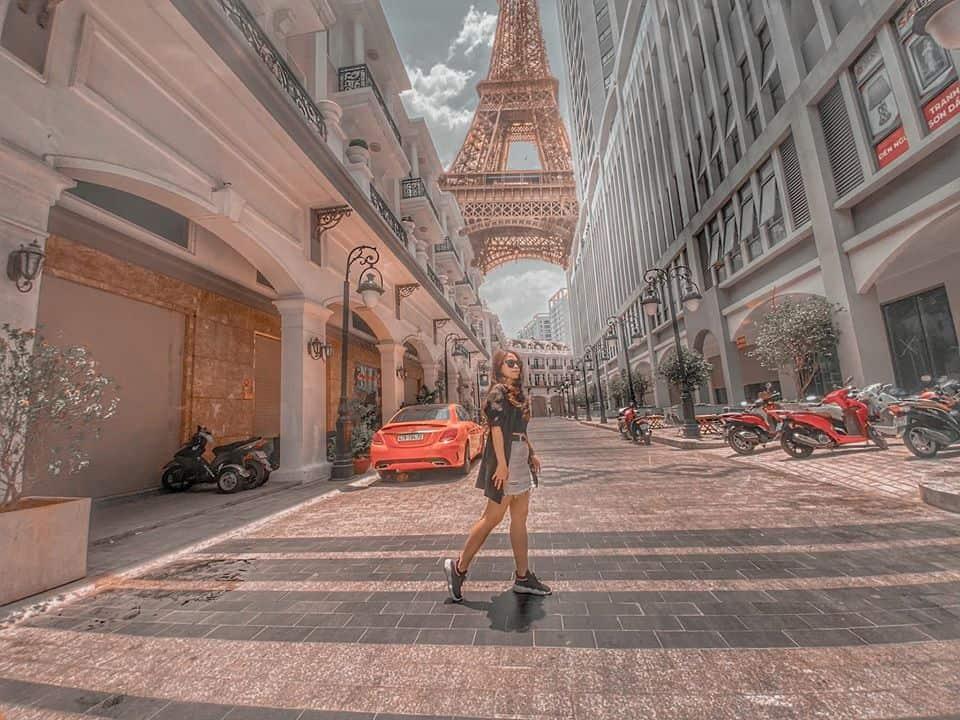 Có một Châu Âu thu nhỏ giữa lòng Sài Gòn - Địa điểm check in mới lạ ít người biết đến (Ảnh: FB Xun Lê)