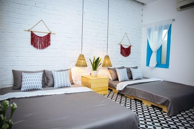 Phòng nghỉ lấy cảm hứng từ phong cách Địa Trung Hải phóng khoáng và thư giãn
