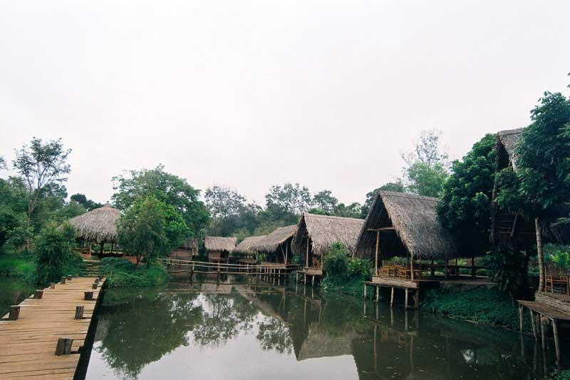 Buôn Ako Dhong cảnh sắc yên bình nơi sinh sống của những người dân thiện lành