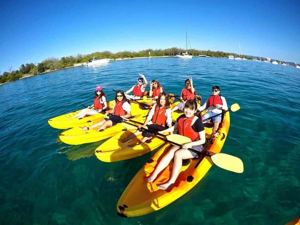 Chèo thuyền Kayak trải nghiệm nhất định phải thử khi đến với Cô Tô