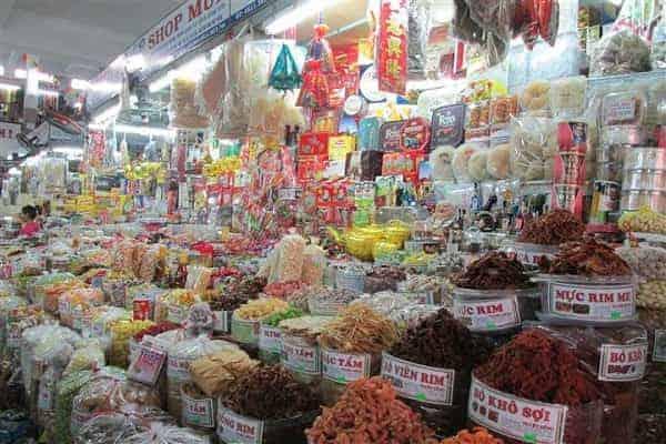 Ghé chợ Hàn mua đặc sản làm quà