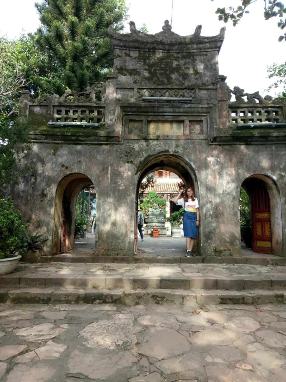 Chùa Tam Thai với nét kiến trúc cổ xưa ở chốn linh thiên