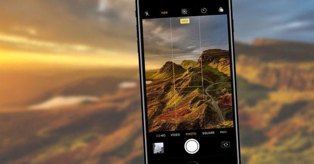 Ảnh chụp bằng HDR trên iPhone