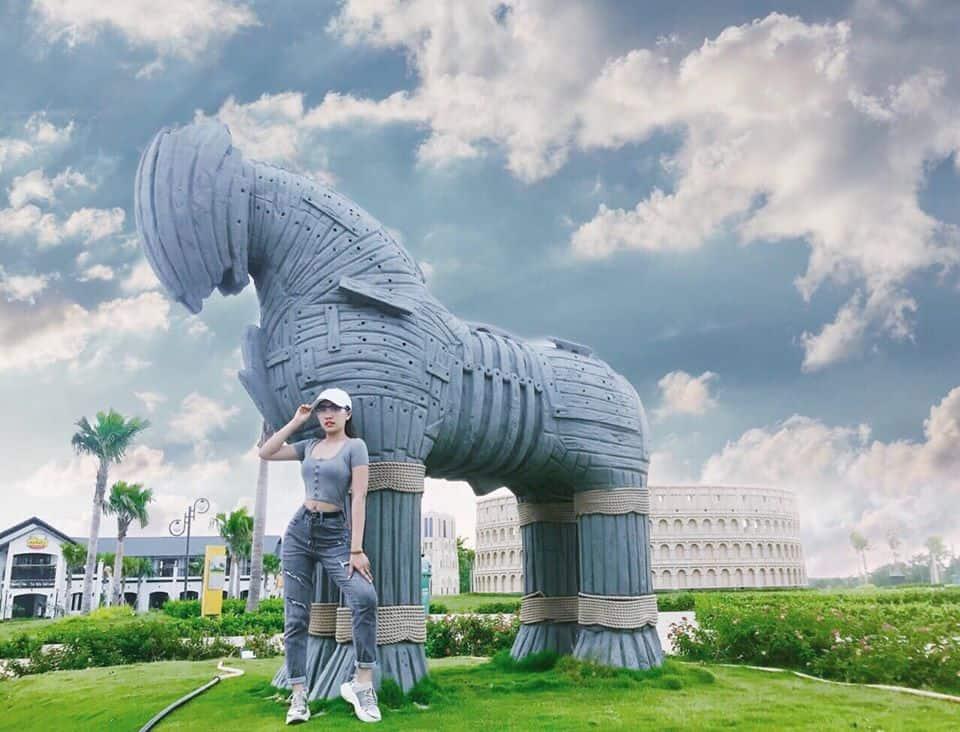 Công viên thế giới di sản the Destina ở Bình Phước địa điểm check in miễn phí - Ảnh FB Di Di
