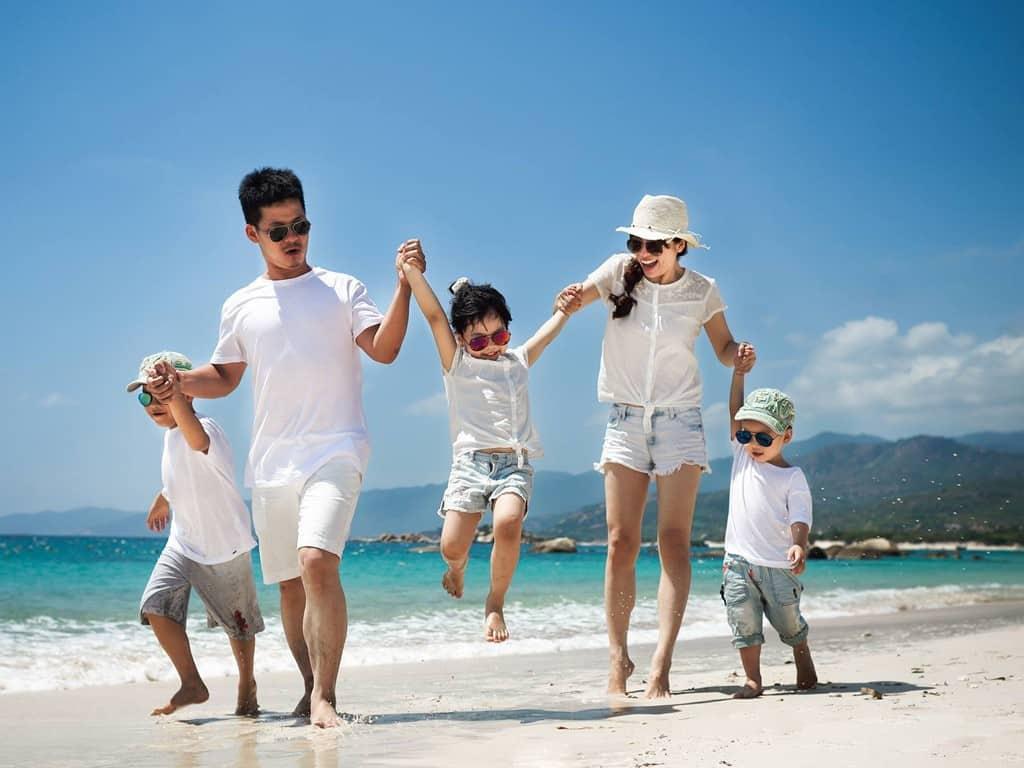 Mùa hè sẽ không còn nhàm chán nếu cả gia đình cùng nhau đến Phú Quốc