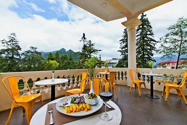Nhà hàng tại khách sạn Lacasa Sapa Hotel