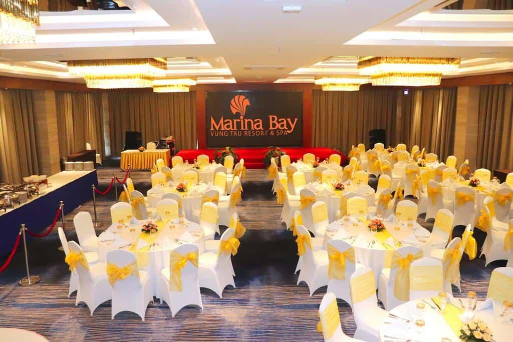 Phòng hội nghị luôn sẵn sàng phục vụ và đáp ứng mọi nhu cầu về tổ chức các sự kiện hay hội họp của du khách