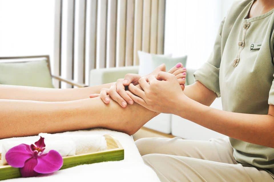 Khu vực Spa cung cấp dịch vụ trị liệu đem đến cảm giác thư thái tuyệt vời