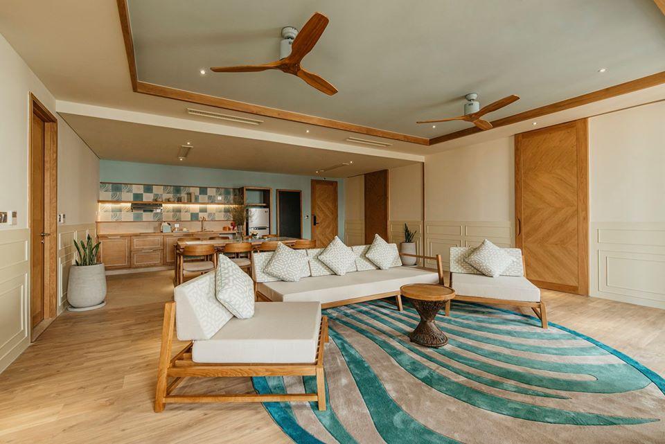 Hệ thống phòng nghỉ đầy đủ tiện nghi với thiết kế trang nhã và ấm áp