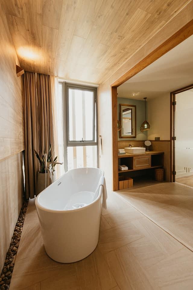 Thư giãn trọn vẹn với phòng tắm tinh tế