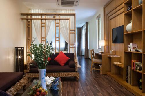 Loại phòng Suite. Hình: Aroma Beach Resort & Spa