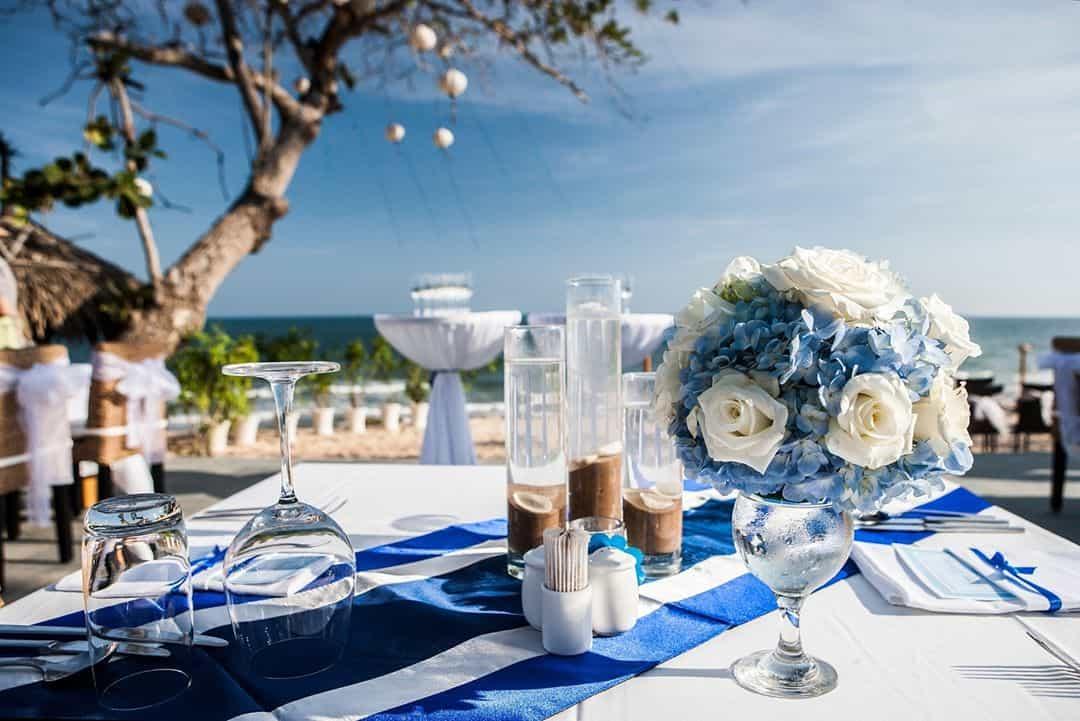 Địa điểm tổ chức tiệc cưới tuyệt vời. Hình: @Aroma Beach Resort & Spa