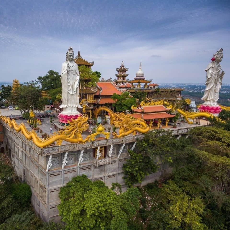 Toàn cảnh chùa Châu Thới