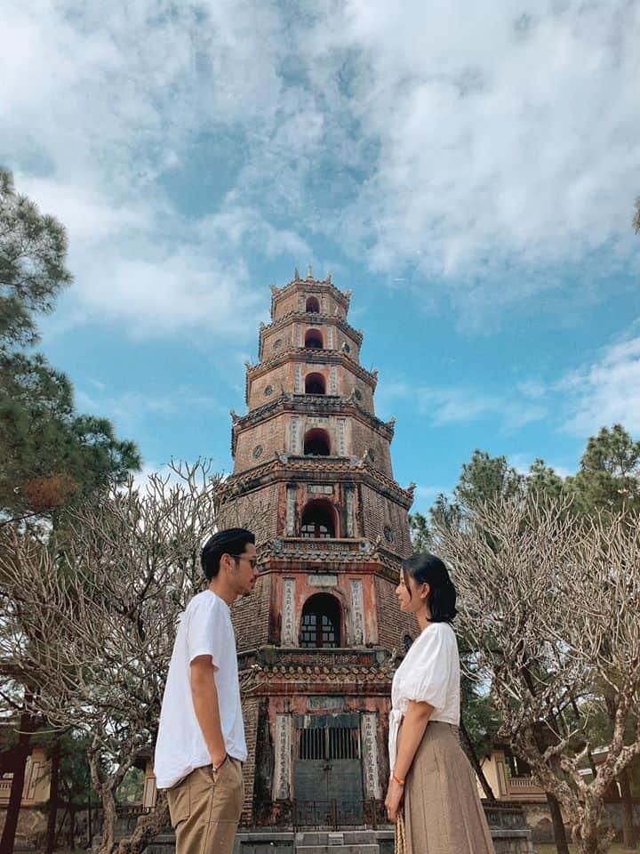Ngọn tháp check in thần thánh. Hình: Bùi Huy Khang