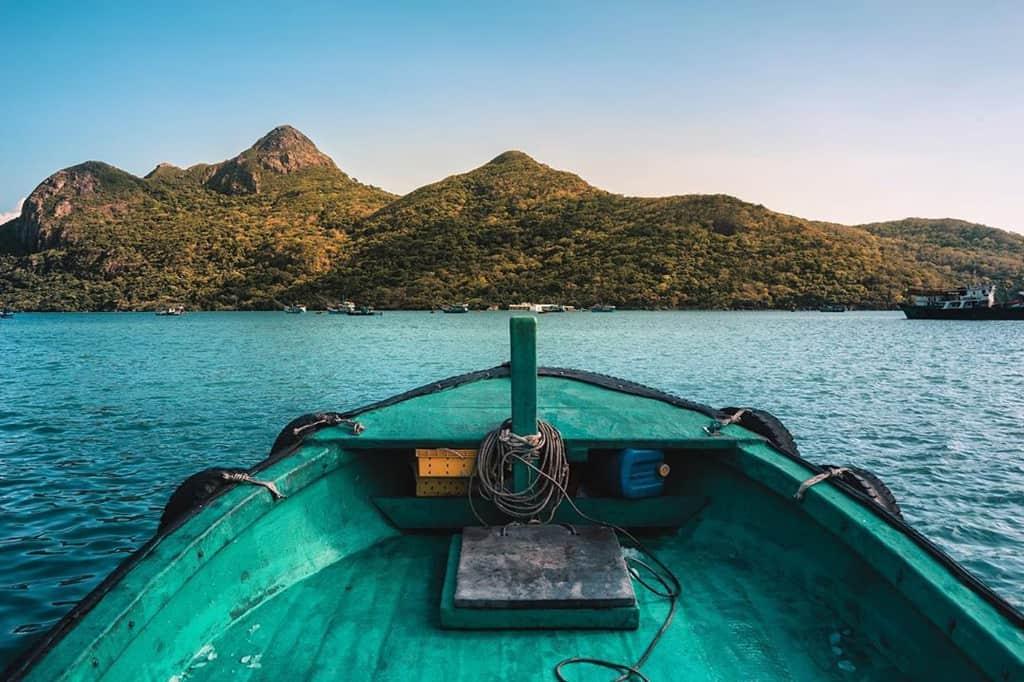Vẻ đẹp hoang sơ của Côn Đảo. Hình: @jonmesic