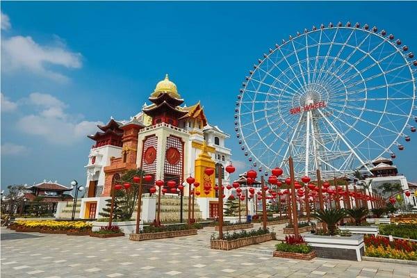 Công viên Asia Park khu vui chơi đẳng cấp quốc tế là nơi thích hợp xã stress vào dịp cuối tuần