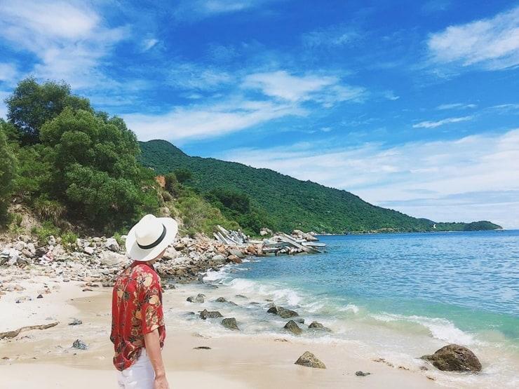 Cù Lao Chàm nét đẹp biển cả hoang sơ làn nước trong xanh